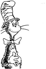 Small Picture Cat in the Hat coloring7com