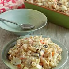 filipino style en macaroni salad