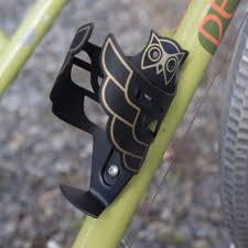 Portland Design Works Portland Design Works Pdw Owl Cage Bottle Cage Black Gold