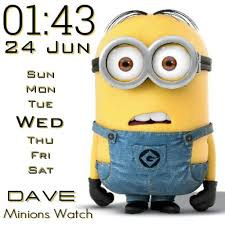 Minion new watch face preview