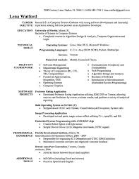 Experience Resume For Software Developer Therpgmovie