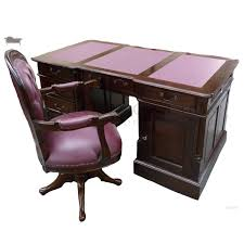 victorian office chair. Partners-desk-150cm-with-victorian-office-chair Victorian Office Chair L
