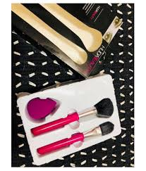 huda beauty 2 makeup brush beauty blender set huda beauty 2 makeup brush beauty blender set at best s in india snapdeal