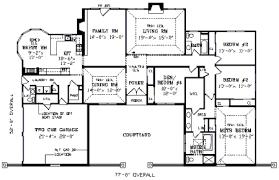 Captivating U Shaped Ranch House Plans Images - Best idea home .