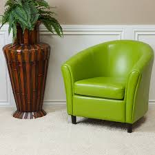 Amazon Best Selling Napoli Lime Green Leather Chair Kitchen