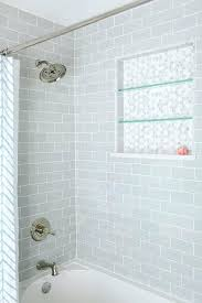 recessed shower niche recessed shower shelves ledges hex tile hexagon tile glass shelves shower recessed shower