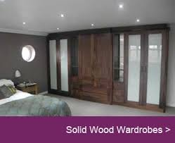 Fitted bedrooms uk Light Grey Gloss Walnutwardrobe Pinterest Yorkshire Wardrobes Fitted Bedrooms