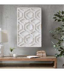 on rustic white wood wall art with worn rustic white geometric wood wall art