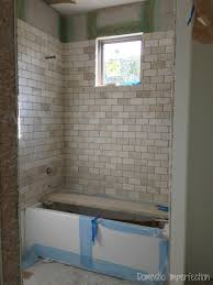Grouting wall tile Grout Shower Shower Tile Installation Domestic Imperfection Grout Mistakes And Installed Bathroom Tile Domestic Imperfection