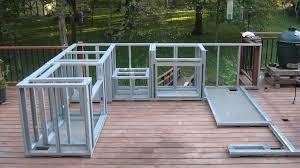 plain art outdoor kitchen frame kits outdoor bar frame kits diy built in grill island build