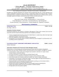 Manager Resume Skills By Julia Morrisey Making A Good Manager Resume