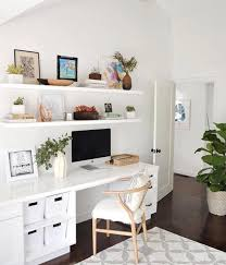 Floating shelf desk Wall Mounted We Should Never Forget That The First Impression Is The Last Impression One Should Decorate His Office So Nicely That It Leaves Great Impression On Clients Pinterest Pin By Abril Watkins On For The Home Pinterest Shelfie Monday