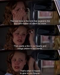 Talk About A Guaranteed Cryfest Love This Movie Love Pinterest Impressive Best Love Movie Quotes