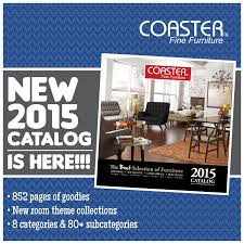 Coaster 2015 Catalog is Here