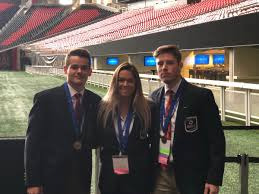 "Hartland DECA on Twitter: ""Jessica Barnes, Mitchell Cotten and Alan Wheat  are on the to the finals in Sports Operations Research for their project on  the @kjgagolf Junior Tour - congrats!… https://t.co/ruaUczqcdn"""