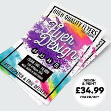 Details About Custom Design A5 250gsm Leaflet Flyer Design Print Free Delivery