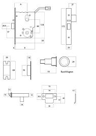 schlage locks parts diagram. Schlage Mortise Lock Parts List Diagram . Locks S