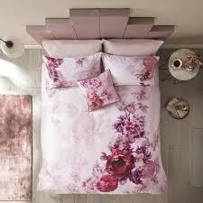 splendour duvet cover pink super king