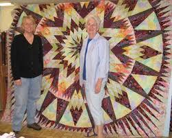 Tennessee Quilts | Quilting Fabrics & Supplies | Jonesborough TN & Judy Niemeyer's Amazon Star using Kaffe Fassett fabrics. Kit available.  Order in our online catalog. Adamdwight.com