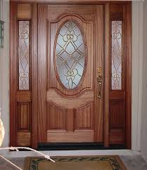 single door design. Classic Front Single Door Designs With Frosted Glass Inserts Design