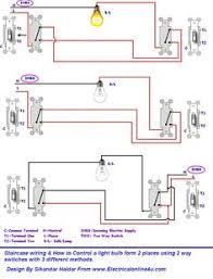 ups inverter wiring diagram for one room office electrical how to control a lamp light bulb from two places using two way switches for staircase lighting circuit