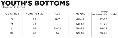 Youth Baseball Pants Size Chart Motorcycle Closeouts