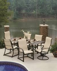 Aluminum Outdoor Dining Table Rectangular Cast Aluminum Patio Dining Table Elegant Outdoor