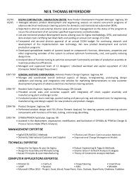 Neil Beyersdorf's Resume