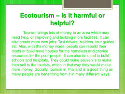 eco tourism in thailand ecotourism