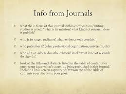 research topic for term paper qualitative