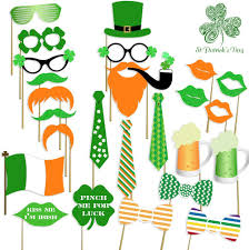 st pattys day home office decor. Amazon.com: St Patrick\u0027s Photo Booth Props , Attached, No DIY Required, Party Decorations Irish Day Mustaches: Kitchen \u0026 Dining Pattys Home Office Decor R