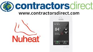 nuheat relay wiring diagram nuheat image wiring nuheat signature floor heating wifi programmable thermostat 120 on nuheat relay wiring diagram