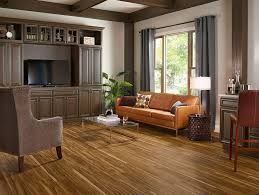 armstrong luxury vinyl plank lvp mid tone wood look flooring mid century modern