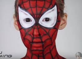 diy amazing spiderman makeup tutorial