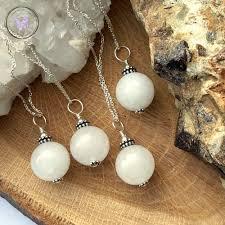 white jade pendant necklace 14 00 in stock