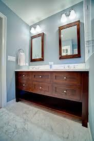 custom double sink bathroom vanity. attractive bathroom mirrors for double vanity and custom sink dark stained k