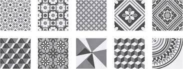 Black And White Pattern Tile Inspiration Top 48 Patchwork Tile Backsplash Designs For Kitchen