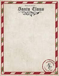 Santa Letterhead Template Word Document Best Of Letter From Santa
