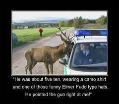 deer hunting funny image