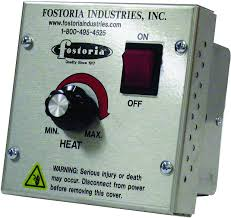 fostoria vhc 32 variable 208 240 volt controller