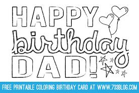 Happy Birthday Dad Printable Card Realmensingshowtunes