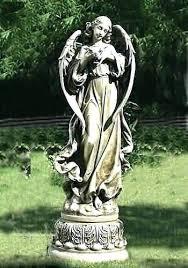 garden angels statues large angel garden statues large angel with dove garden statue for church large