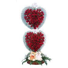 in love with red roses guntur