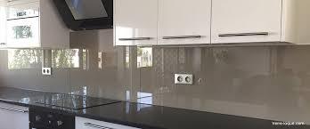 Credence Transparent Glass Kitchen