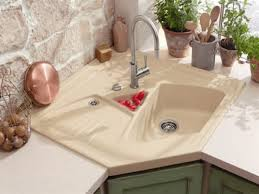 Corner Kitchen Sink Cabinets Kitchen Trendy Corner Kitchen Sink Within Kitchen Corner Sink