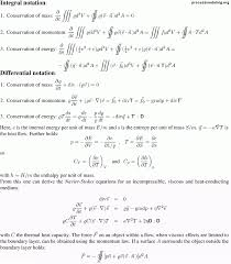 conservation laws bernoulli s equations