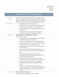 Marketing Specialist Sample Resume Ideas Collection Email Marketing Specialist Resume Wonderful 6