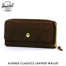 hershel supply herschel supply regular wallet avenue classics leather wallet 10259 00037 os