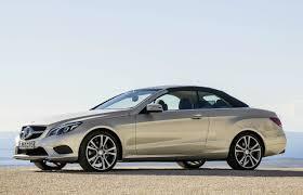 2014 Mercedes-Benz E-Class Cabrio roof up  