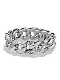 david yurman belmont link bracelet with diamonds silver women s all jewelry bracelets chains strands